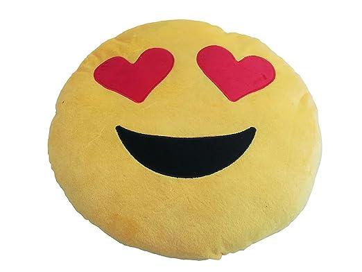 Cojin almohada corazon corazones emoticono regalar regalo ...