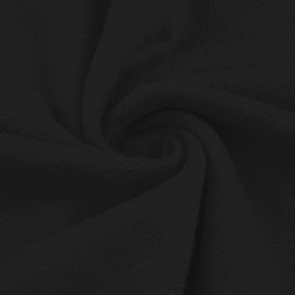 QIUUE Unisex Christmas Letter Print Tunic Tees Short Sleeve O-Neck T-Shirt Lightweight Sweatshirt Holiday Pullover