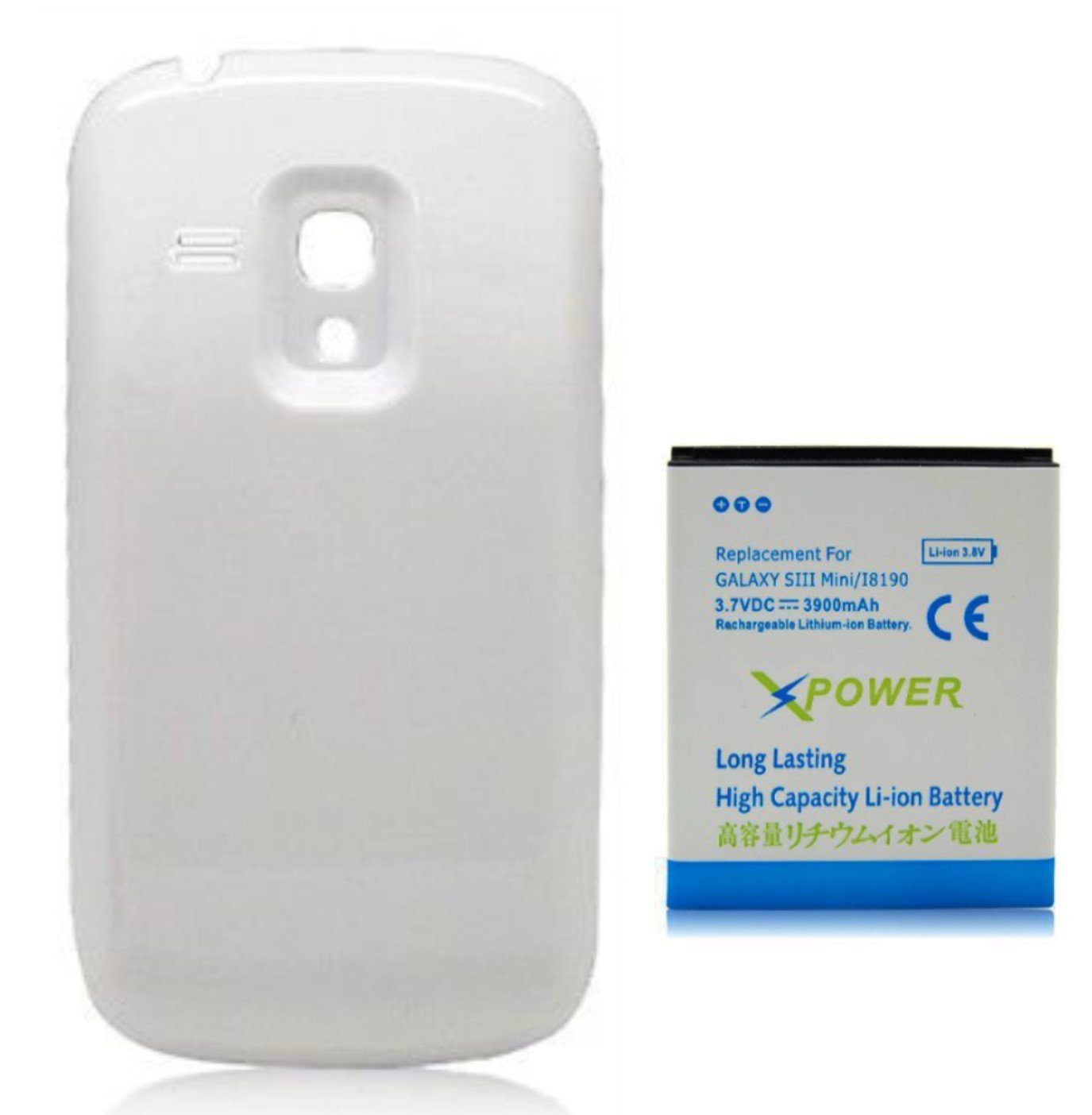 Amazon.com: X-Power 3900mAh Batería Extendida con Carcasa ...