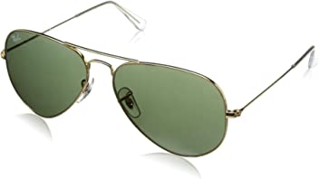 21b55ba660 Ray-Ban, RB3025, Large Metal Aviator Sunglasses 58 mm, G-15