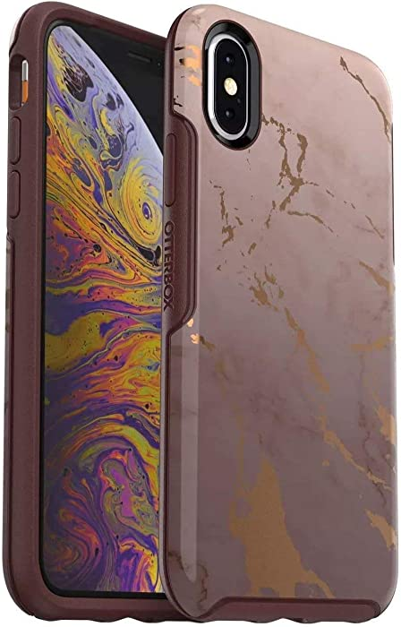 OtterBox Symmetry Series Case for iPhone Xs & iPhone X - Retail Packaging - Lost My Marbles