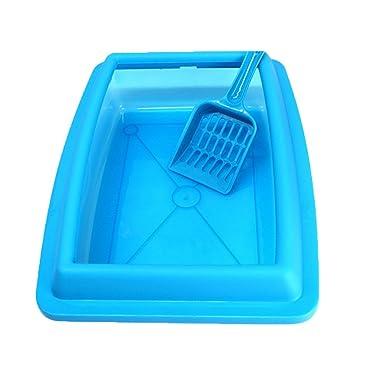 QinMM Gato Inodoro Anti-Salpicaduras Sanitario Semi-Cerrado para el hogar, Caja de