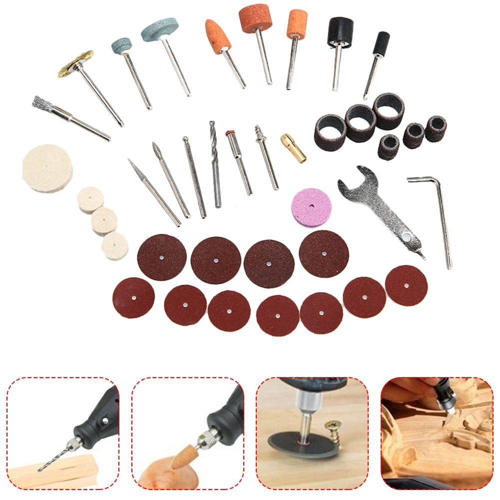 Per 40PCS/Set Hardware Tools Electric Grinder Parts Grinding and Polishing Accessories