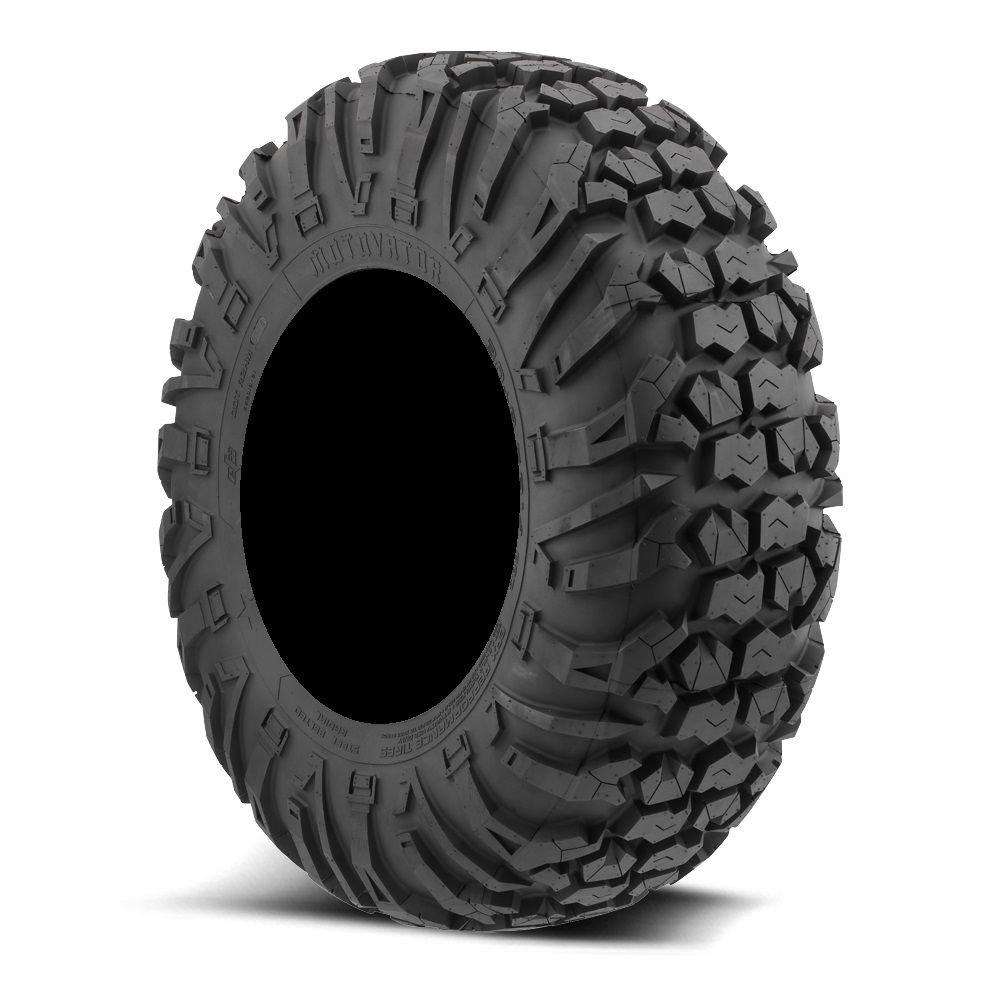 Bundle - 9 Items: STI HD7 14'' Wheels Blue/Black 30'' MotoVator Tires [4x110 Bolt Pattern 12mmx1.25 Lug Kit] by Powersports Bundle (Image #3)