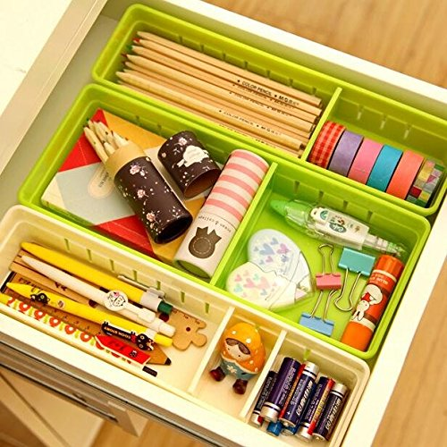 desk drawer organizer adjustable - 7