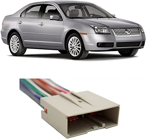 Mercury Sable 2008-2009 Factory Stereo to Aftermarket Radio Harness Adapter