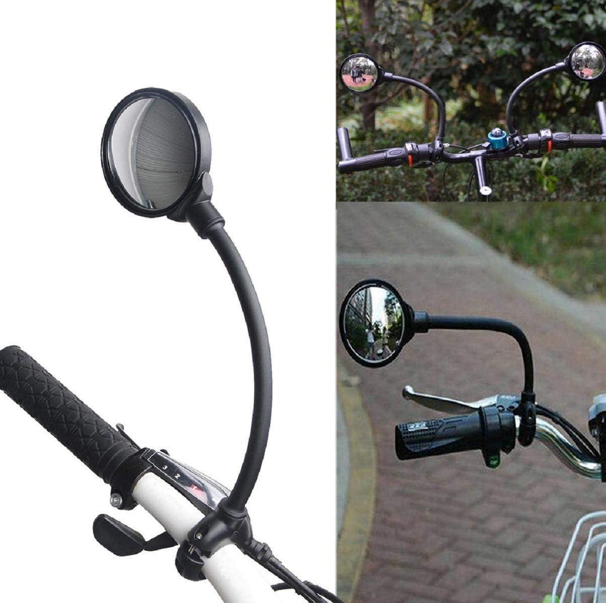 Side Mirror Bicycle Accessorie Rotatable Handlebarmirror Biking Decor Handlebar