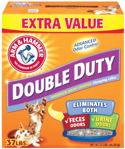 Price comparison product image Arm & Hammer Double Duty Clumping Litter,  37-Pound