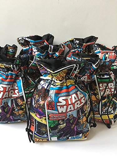 Amazoncom Star Wars Birthday Party Favor Bags set of 10 ea