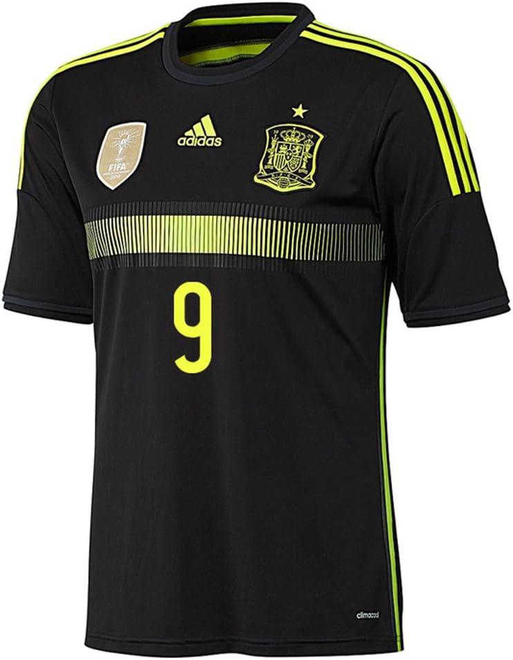 adidas Torres #9 España Camiseta 2da Copa Mundial 2014 (XL): Amazon.es: Deportes y aire libre