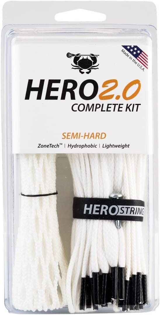 ECD Lacrosse Hero2.0 Complete Kit – Best Mesh for the Game