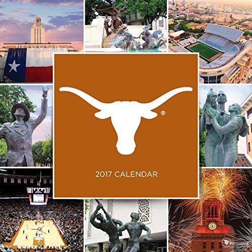 2017 University Of Texas Wall Calendar