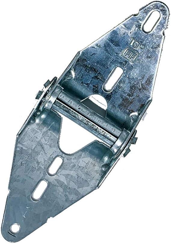 Bisagra para puerta de garaje Heavy Duty 14 Gauge acero # 1 con acabado galvanizado – Residencial/luz comercial puerta de garaje de repuesto (jgs): Amazon.es: Hogar