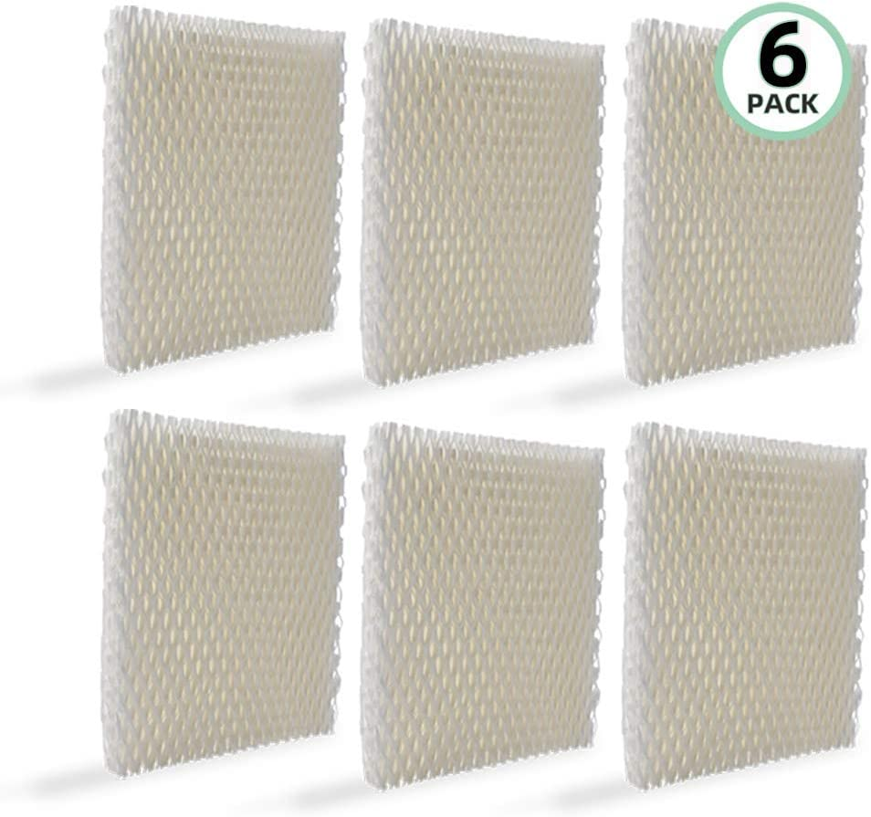 Fre.Filtor 6-Pack Humidifier Filter B Compatible with Honeywell HCM-750,HCM-750B,HCM-750-TGT Humidifiers.Compare to Part HAC-700,HAC-700V1,HAC700PDQV1