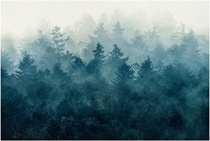Forêt Brumeuse Pendaison Tapisserie Plage Bohemian Serviette