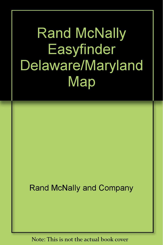 Rand McNally Easyfinder Delaware/Maryland Map (State Maps-USA): Rand ...