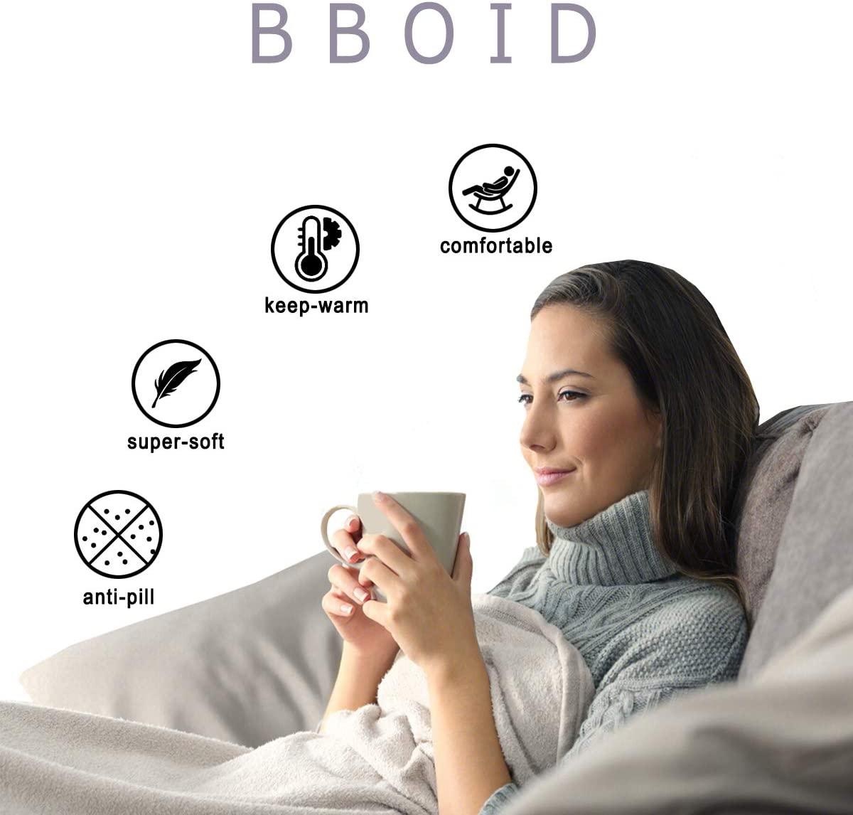 BBOID Super Soft Blanket Sunflower to My Daughter I Love You Light Weight Throw Quilt Comfy Fluffy for Bed Sofa Suitable All Seasons 60X50 for Teen Medium
