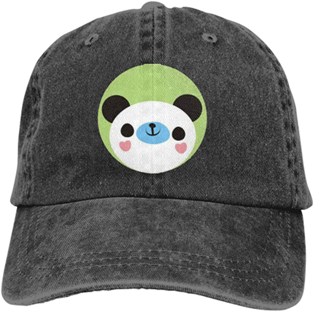 Happy Panda Smiling Adjustable Baseball Cap for Man and Women Trucker Cap Snapback Sports Hat One Size
