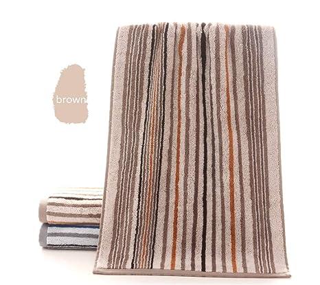 BIANJESUS Toallas de algodón Conjunto Suave Absorbente Banda cómoda Felpa Hotel Hombres Mujeres niños máquina Lavable