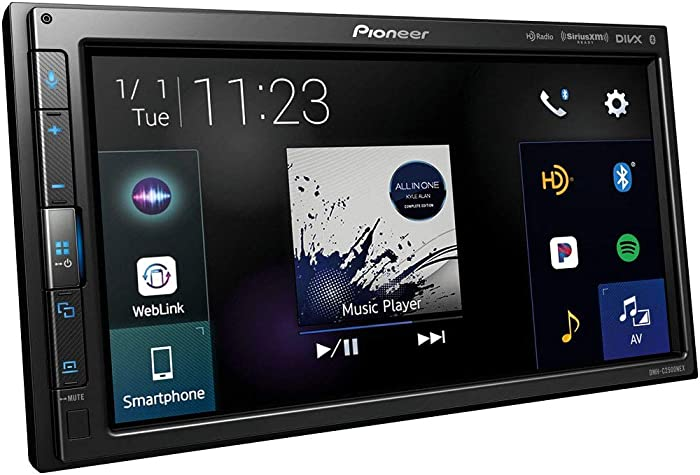 "Pioneer DMH-C2500NEX Hideaway unit - Double DIN Android Auto and Apple CarPlay In-Dash Car Stereo Receiver, 6.8"" Touchscreen"