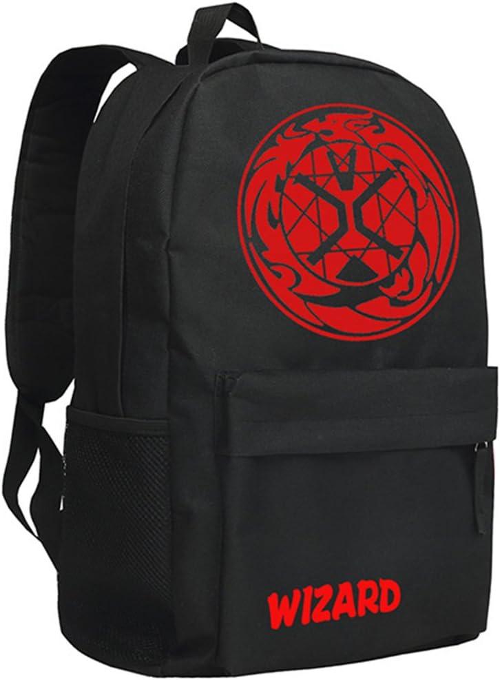 Gumstyle Masked Rider Backpack Anime School Bag Classic Schoolbag Black