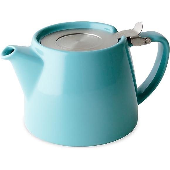 For Life Turquiose Stump teapot