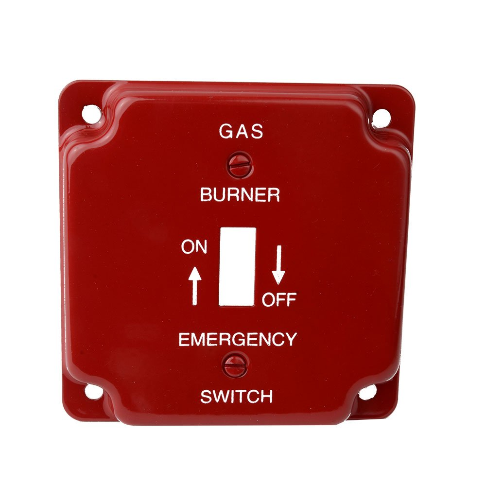 Diversitech 625-S17 Cover,Switch Plate Gas Emr,Red,