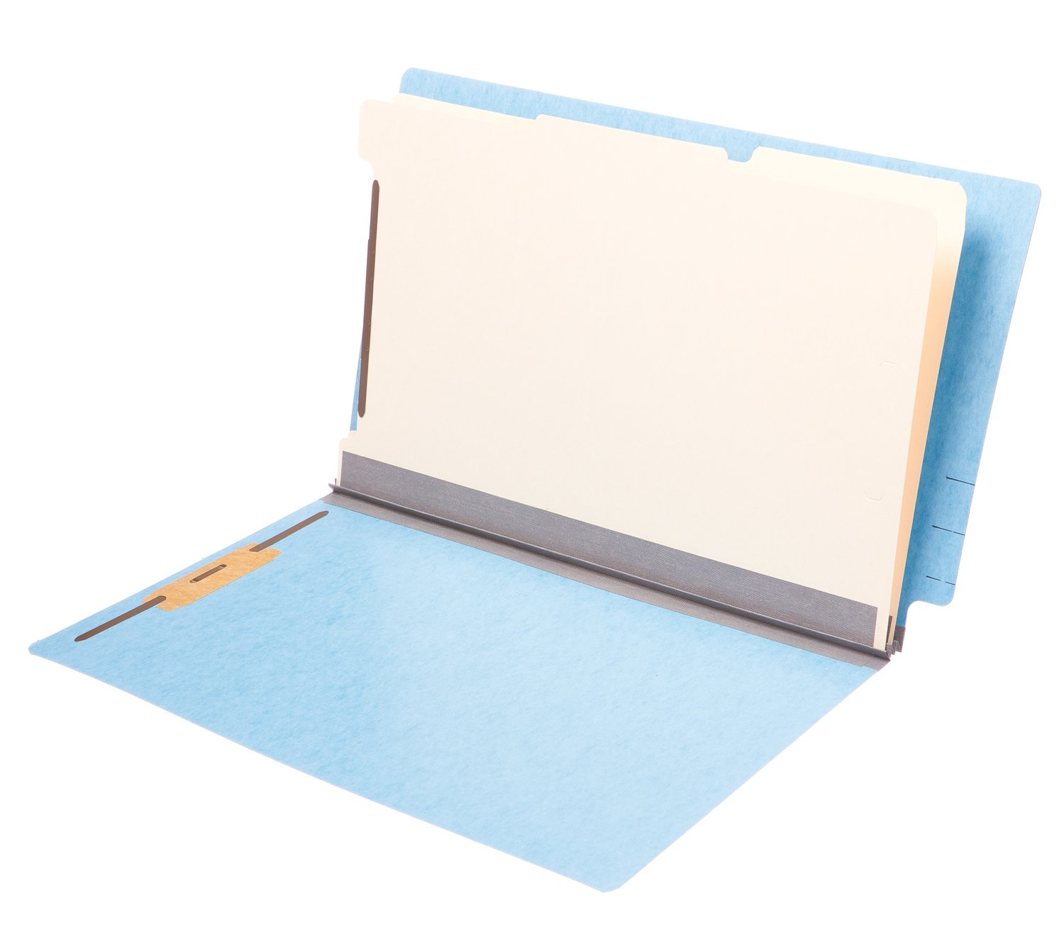 TAB Pressboard Classification Folder 2 Dividers Legal Size Expansion Blue 25/Box by TAB
