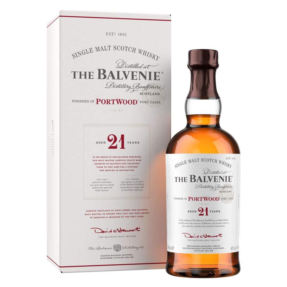 シングルモルトウイスキー バルヴェニ-21年 ポ-トウツド [ ウイスキー イギリス 700ml ] B001P4YYT8