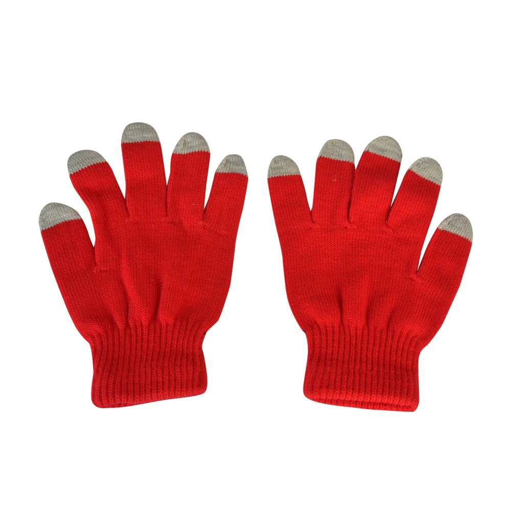 Thick Knitted Wool Touch Screen Cellphone Gloves