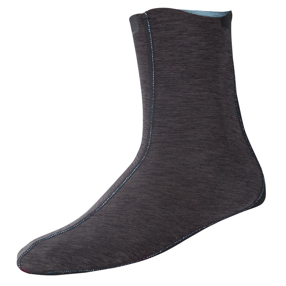 NRS HydroSkin 0.5 Wetsock Charcoal Heather XXL by NRS