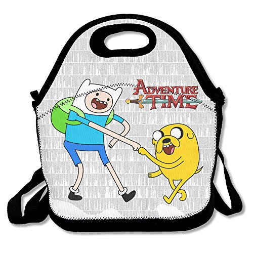 ScutLunb Lunch Bag Adventure Time Lunch Tote Lunch Box For Women Men Kids With Adjustable Strap