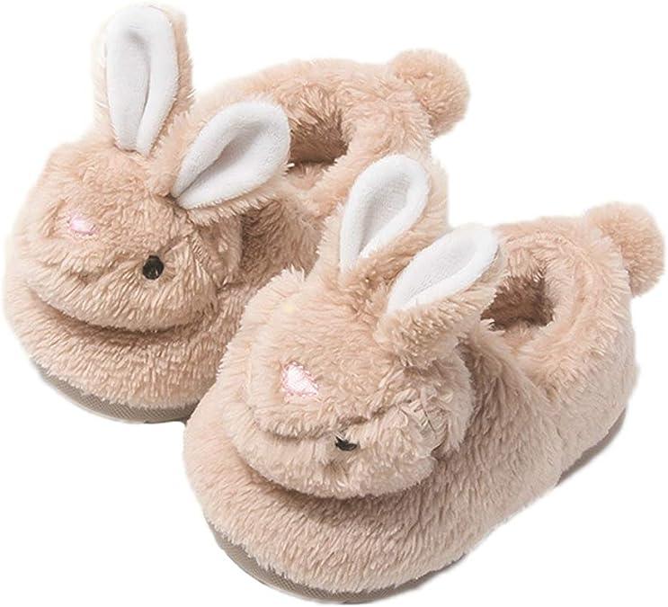Zapatillas de casa para ni/ños peque/ños con Suela de Goma Zapatillas de casa Ligeras de Punto Antideslizantes para ni/ños ni/ñas