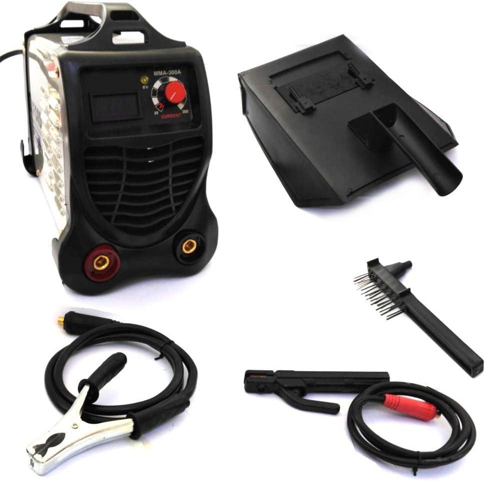 FAST WORLD SHOPPING ® Soldadora eléctrica de electrodo 300 amperios Inverter máquina para soldar soldador portátil