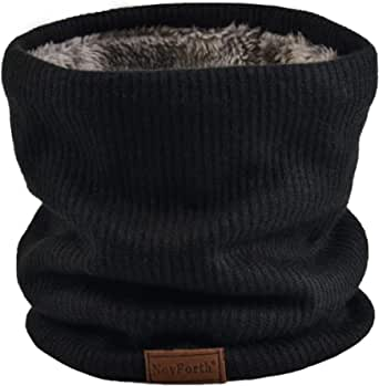 NovForth Winter Neck Warmer Men Ski, Neck Gaiter Face Scarf Women, Fleece Scarf for Men Gaiter Mask, Thick Windproof Scarves