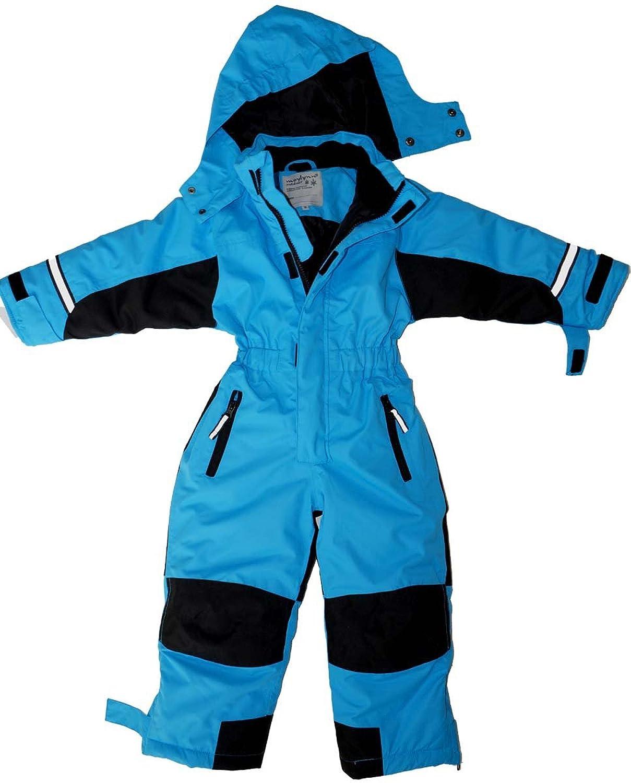 Maylynn - Softshell Skianzug Schneeanzug Blau