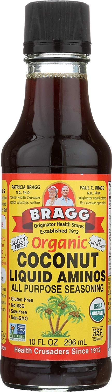 Bragg's Organic Saver Package: Bragg Organic Coconut Liquid Aminos, 10 Oz + Bragg's Nutrional Yeast Supplement, 4.5 Oz by Bragg's Organic (Image #2)