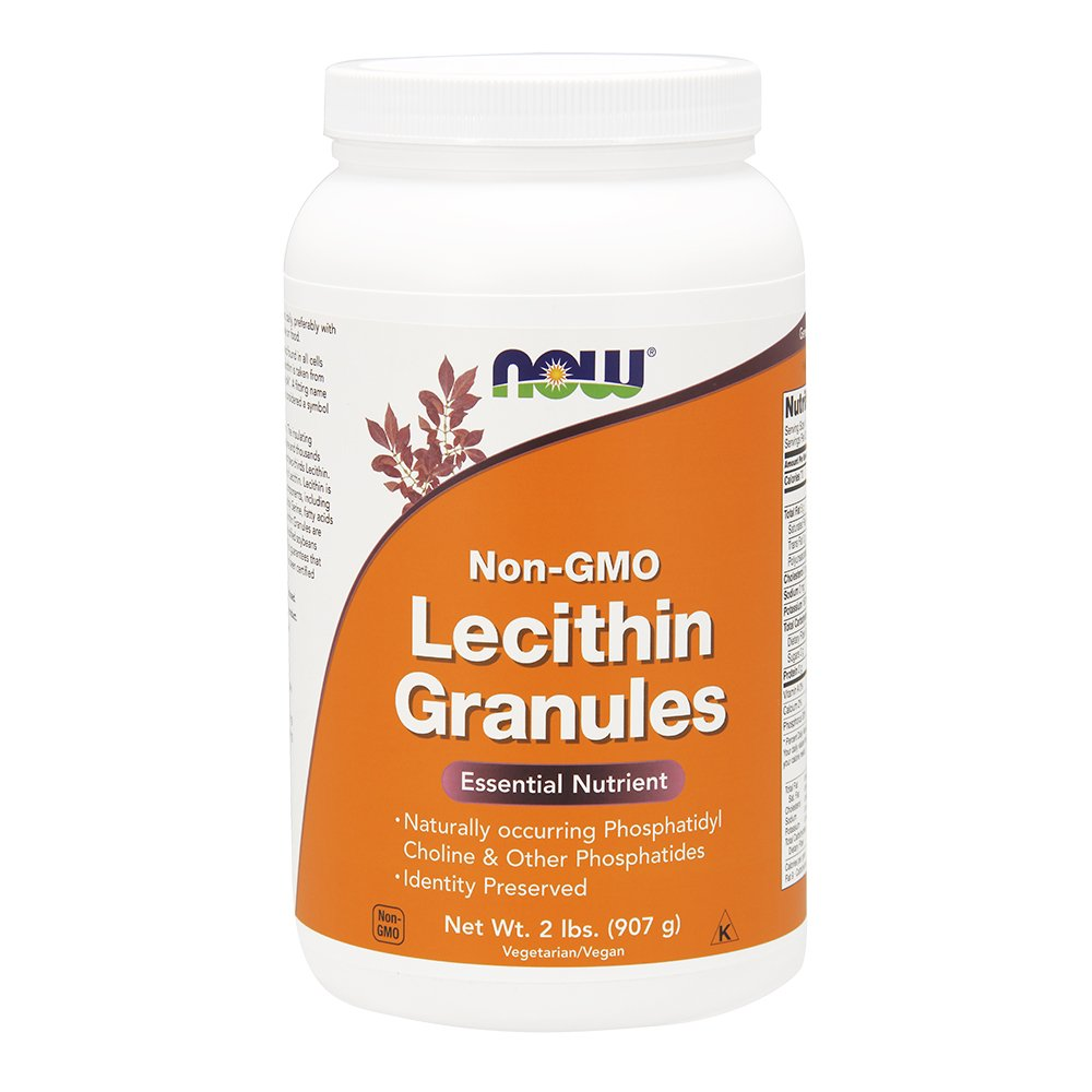 Now Foods Lecithin Gran 2 Pound by Now Foods, 1.0 Count by NOW Foods