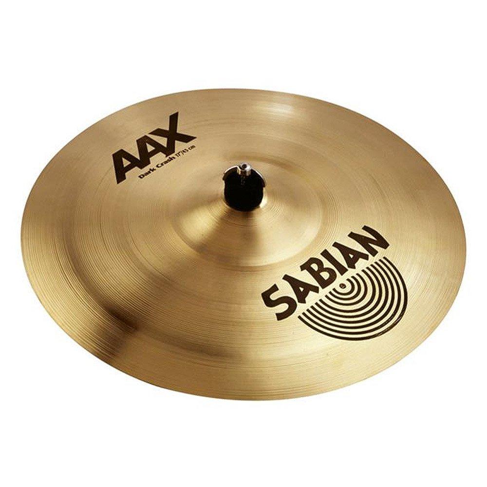 Sabian 21768XB 17-Inch AAX Dark Crash Cymbal - Brilliant Finish