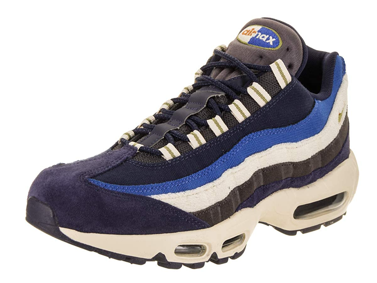 Blackened bluee Camper Green Nike Air Max 95 No-Sew Men's shoes Grey