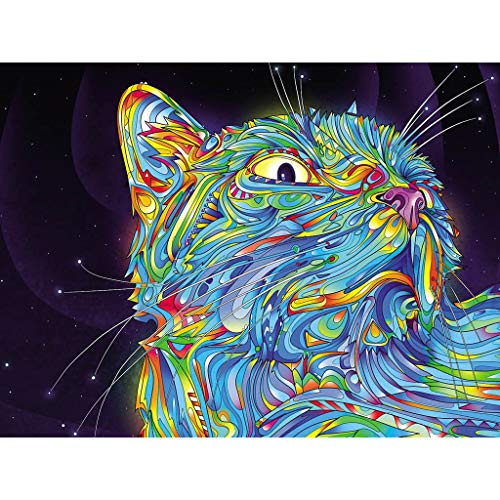 Gangglis Animal Stickers Diamond Cross Painting Embroidery Painting DIY Rhinestone Stitch (B)
