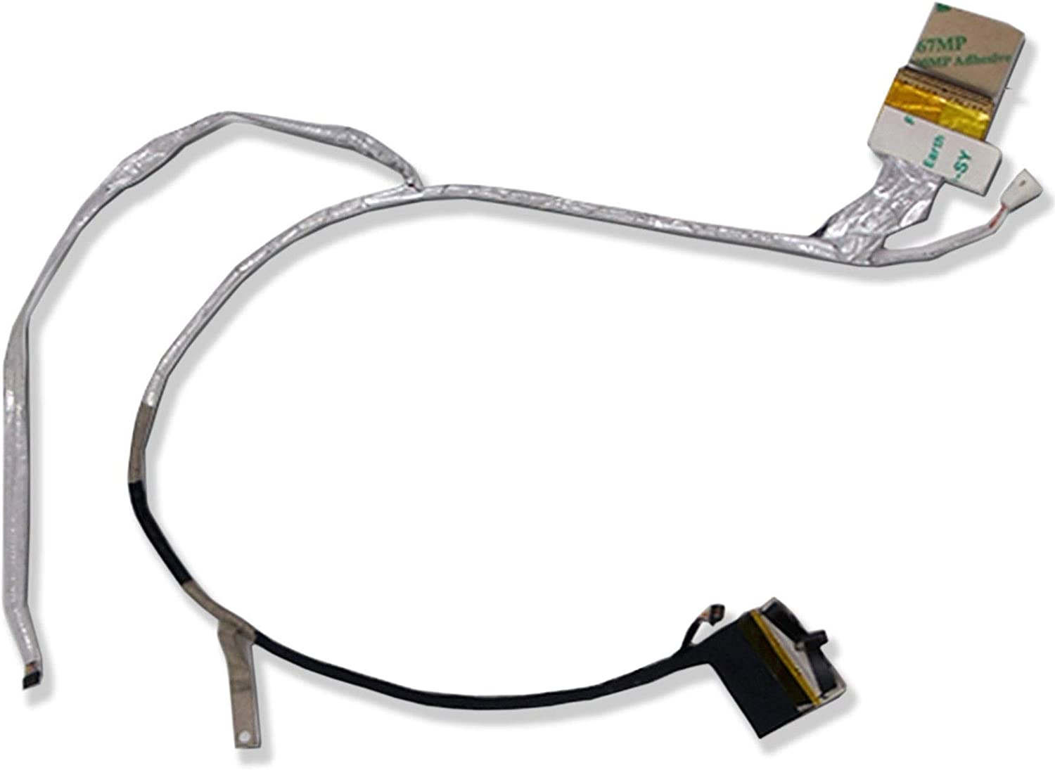 CAQL LCD LED Screen Video Flex Cable for HP Pavilion DV6-6104NR DV6-6106NR DV6-6111NR DV6-6112NR DV6-6116NR DV6-6118NR DV6-6123NR DV6-6126NR DV6-6128NR DV6-6136NR DV6T-6000 DV6T-6100 DV6T-6200