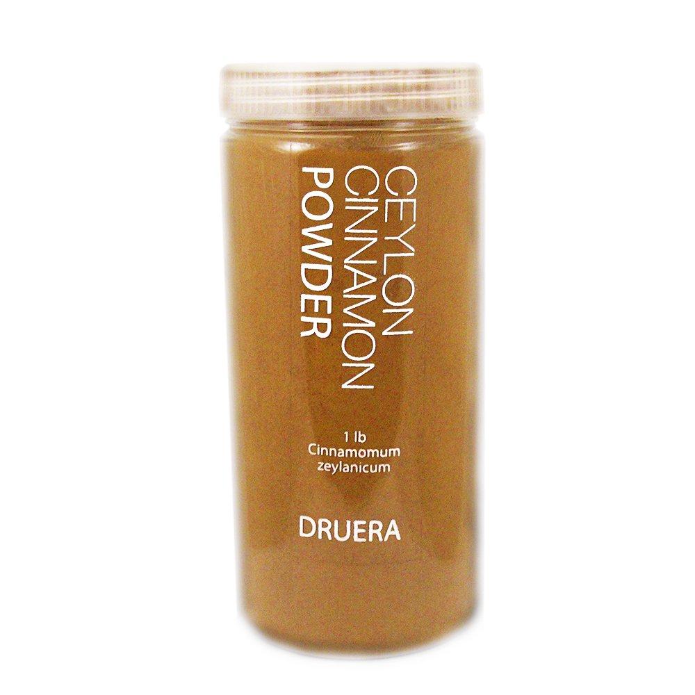 Pure Ceylon Cinnamon powder 1 lb (shipped from Ceylon) by Dru Era