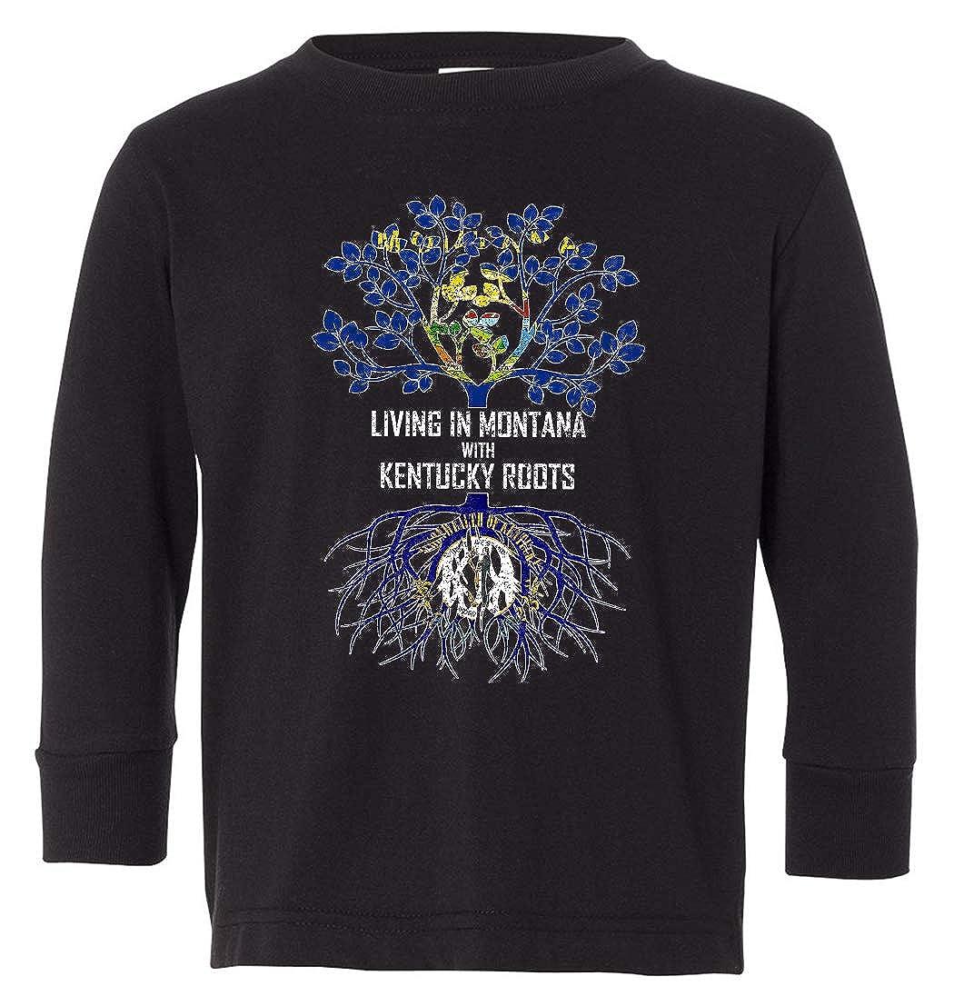 Tenacitee Babys Living in Montana Kentucky Roots Shirt