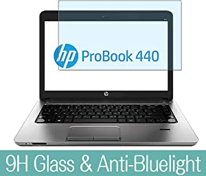 "Synvy Anti Blue Light Tempered Glass Screen Protector for HP ProBook 440 G0 14"" Visible Area 9H Protective Screen Film Protectors"