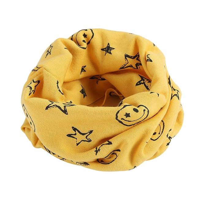 FEITONG Otoño Invierno Niños niñas Collar del bebé Bufanda de algodón  Cuello Redondo Bufandas WY45 Navidad 65f143c17ed