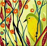 Karribi Paint by Numbers Kit for Adults and Children - Spring Birds Series (Bird V)
