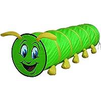 Knorrtoys 55120 Knoortoys Play Tunnel Hugo Caterpillar, flerfärgad