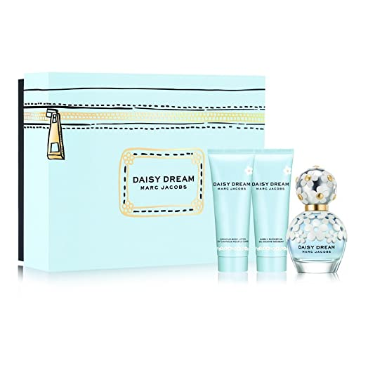 Marc Jacobs Daisy Dream 50ml EDT Gift Set - 3 Piece: Amazon.co.uk ...