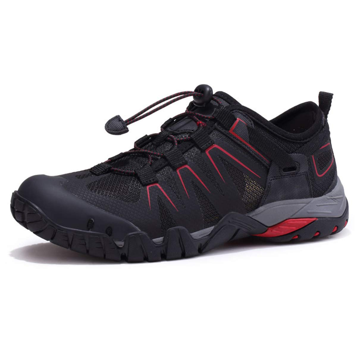 noir 42 EU GTYW Chaussures de randonnée pour Hommes, de Plein air, Mailles à séchage Rapide, Chaussures de Marche
